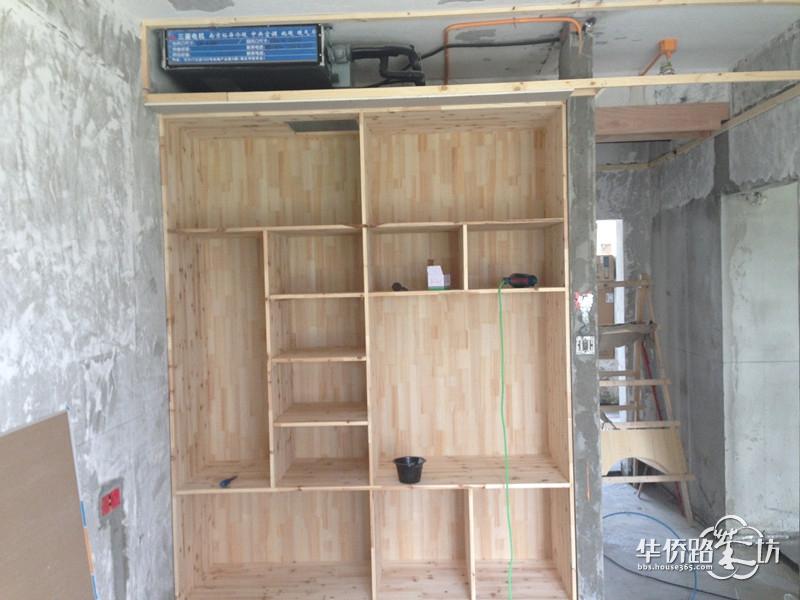 美式木工柜子连接做法图解