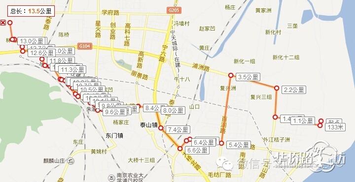 665路大桥东路线图
