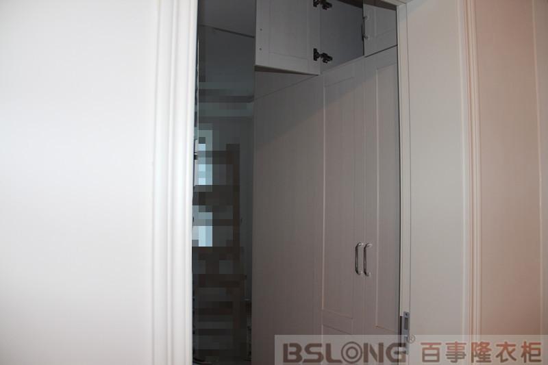 主卧衣柜:西洋简欧式-定制衣柜的安装现场 之业主必看