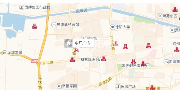 中环广场交通图