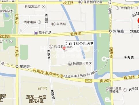 金辉尊域雅苑交通图