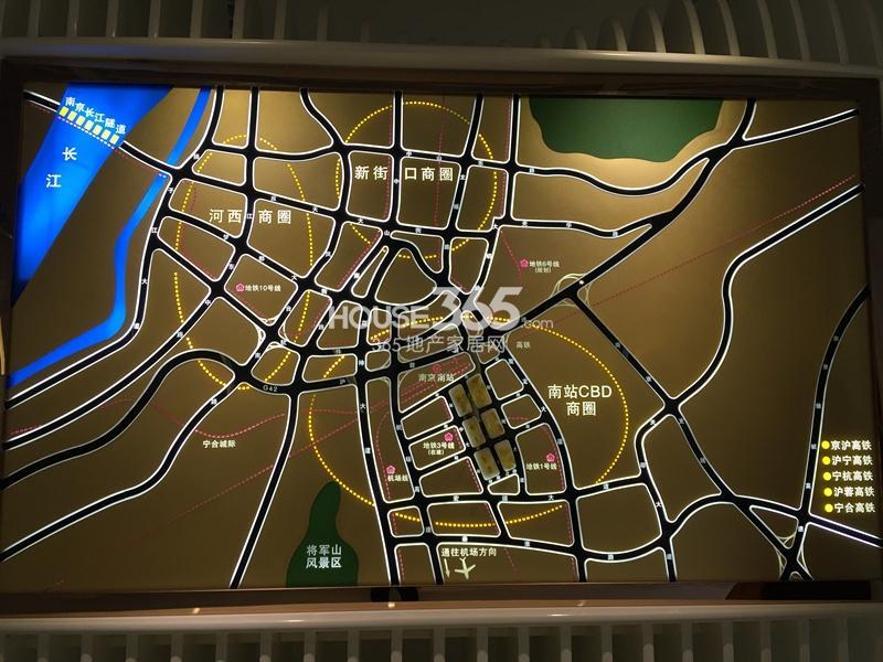 证大喜玛拉雅交通图