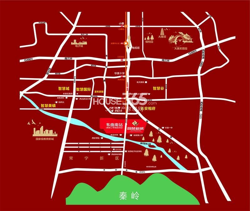 智慧新城交通图
