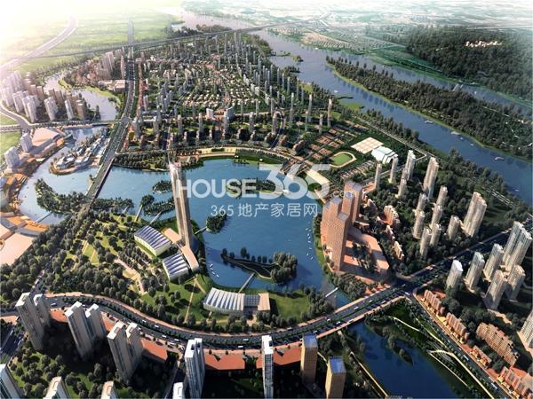 颐和城鸟瞰图