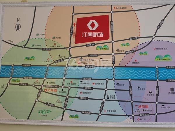 城关江南明珠交通图