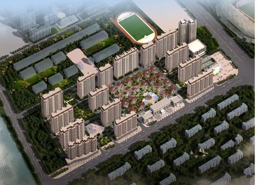 湖滨·文锦苑鸟瞰图