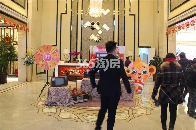 中海运河丹堤销售中心实景