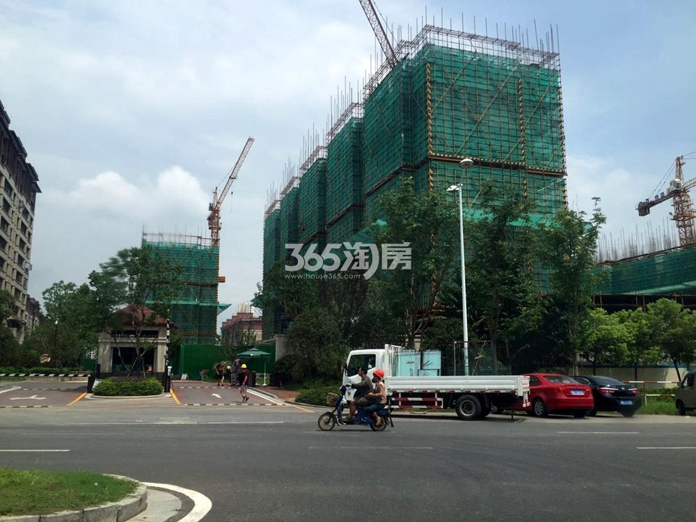 高科荣境(新组团:桂山堂)在建楼盘实景图(8.17)