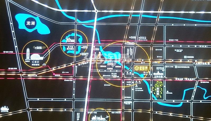 星联湾交通图