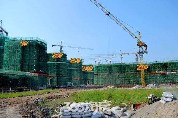 新华联梦想城工程进度(2016年9月摄)