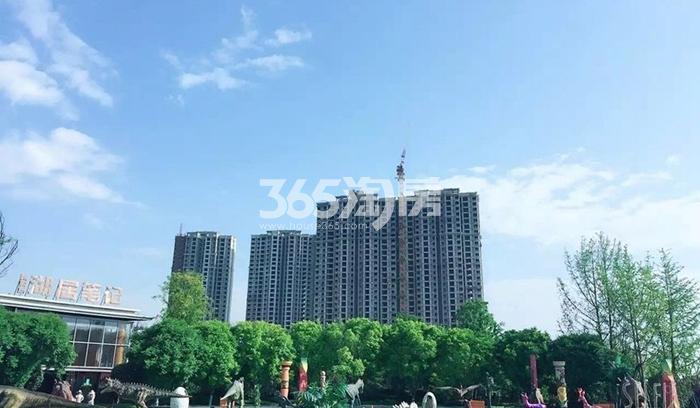 雅居乐湖居笔记园林实景(摄于2016.09.29)