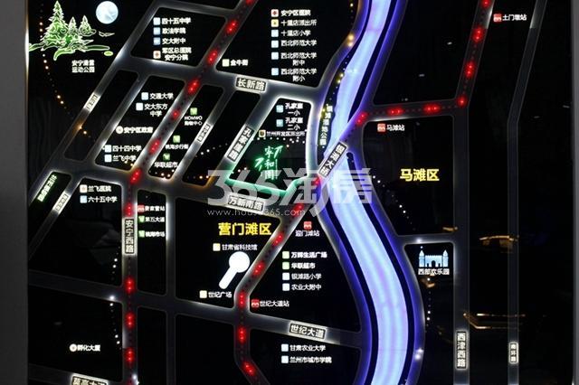 嘉盛宁和园交通图