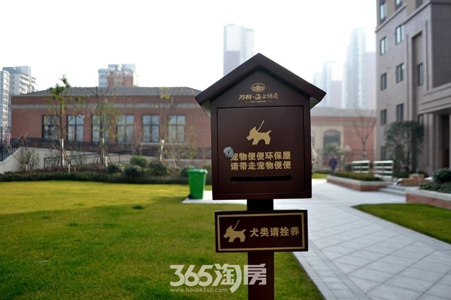 万科海上传奇小区实景(2017.2摄)