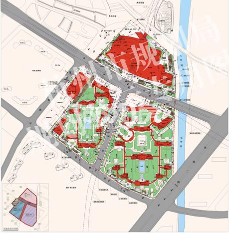 信达中心项目平面图