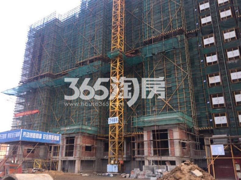 银亿东城9街区实景图(3.25)