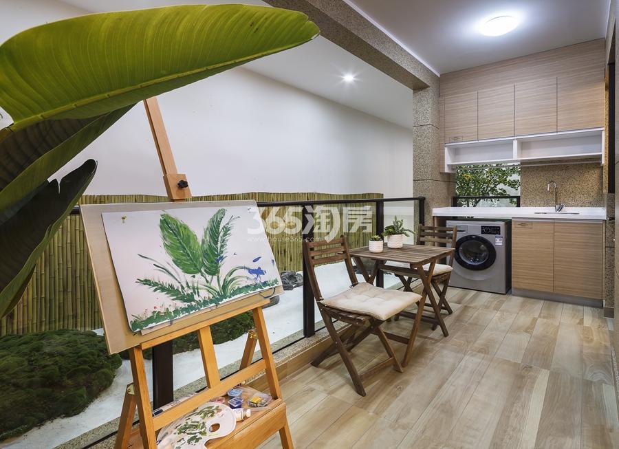 新城香悦公馆A1户型89方样板房——阳台