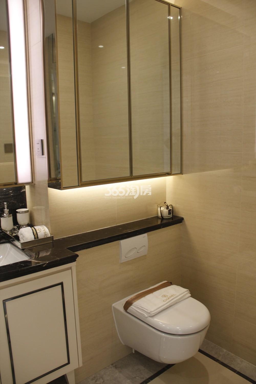 首开杭州金茂府125方样板房---卫浴间