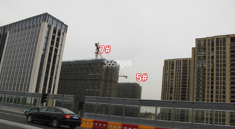 2017年4月万科新都会1958项目实景---5、7号楼