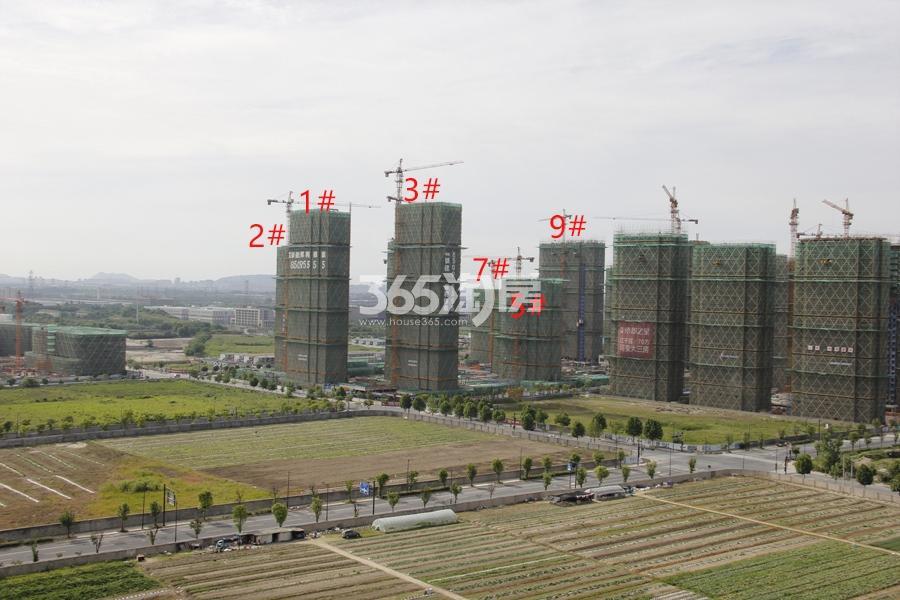 中国铁建保利像素实景图