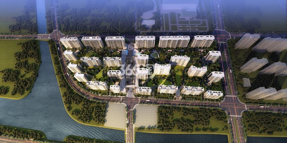 阳光城项目整体鸟瞰图