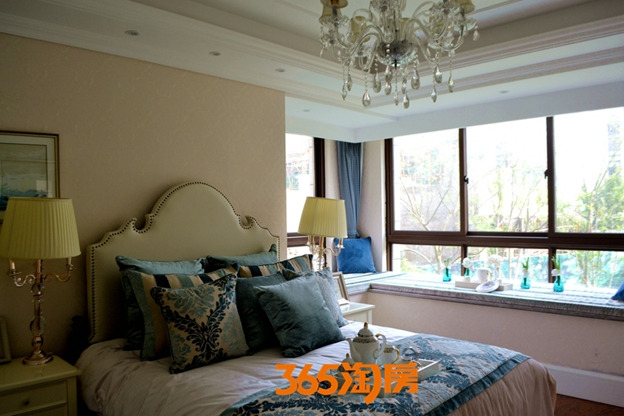 新华联梦想城115㎡样板间-卧室