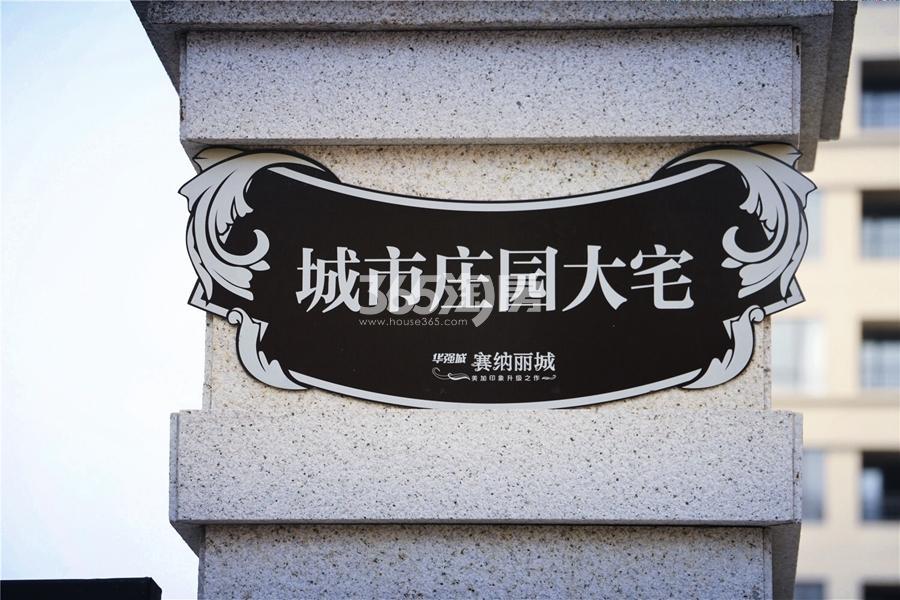 华强城赛纳丽城滨江实景图(2017.7摄)