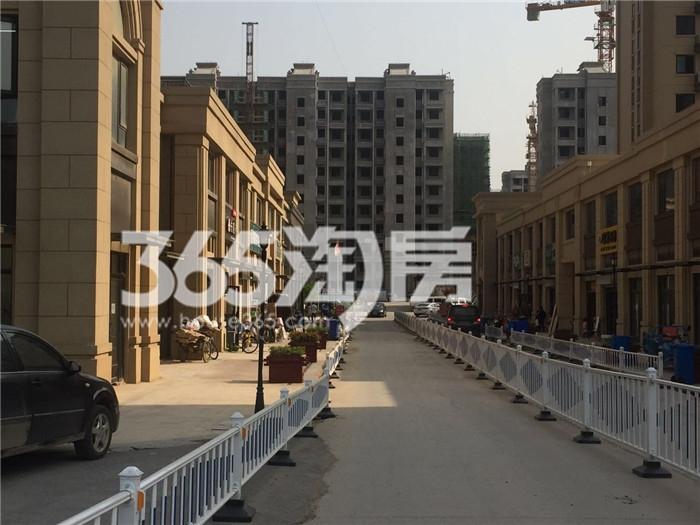 银亿东城9街区在建商铺楼栋实景图(7.26)