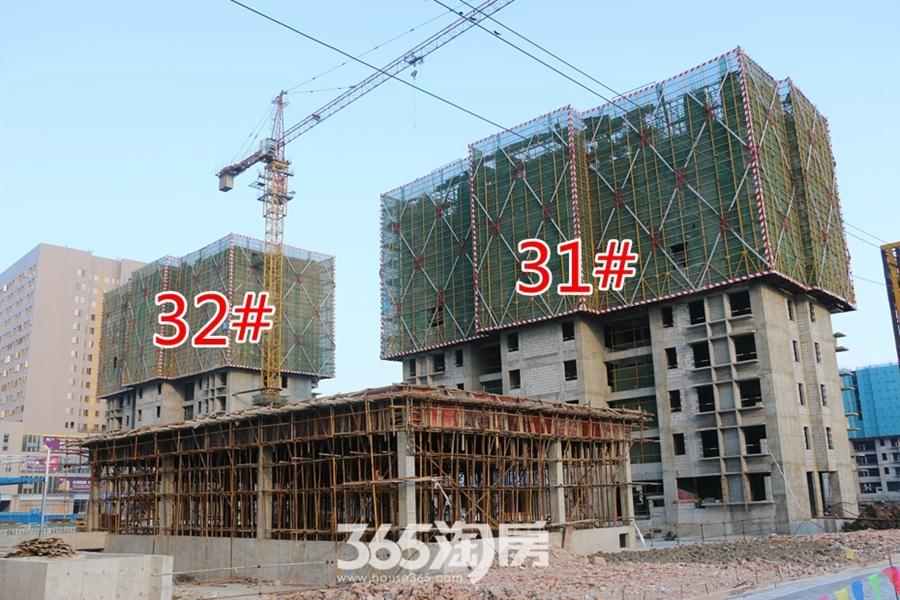 翰林公馆31#32#正在施工中(2017.7摄)