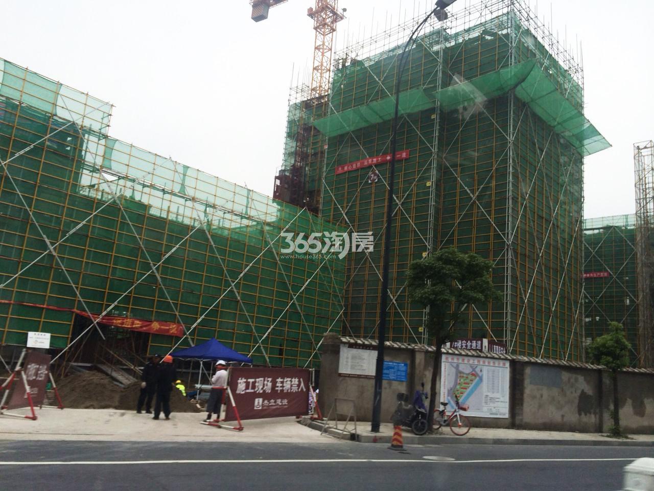 2017年8月融信公馆ARC局部建造进度