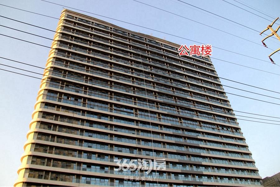 复地南都荟公寓楼实景(2017.8摄)