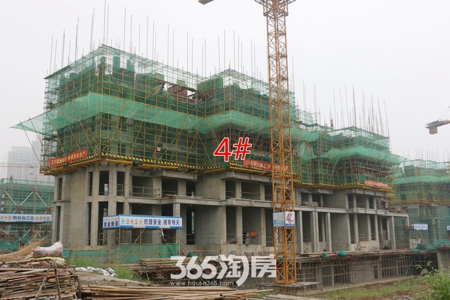 卓瑞北宸龙湖湾4#正在施工(2017.9摄)